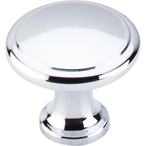 Nouveau Ringed Mushroom Knob by Top Knobs