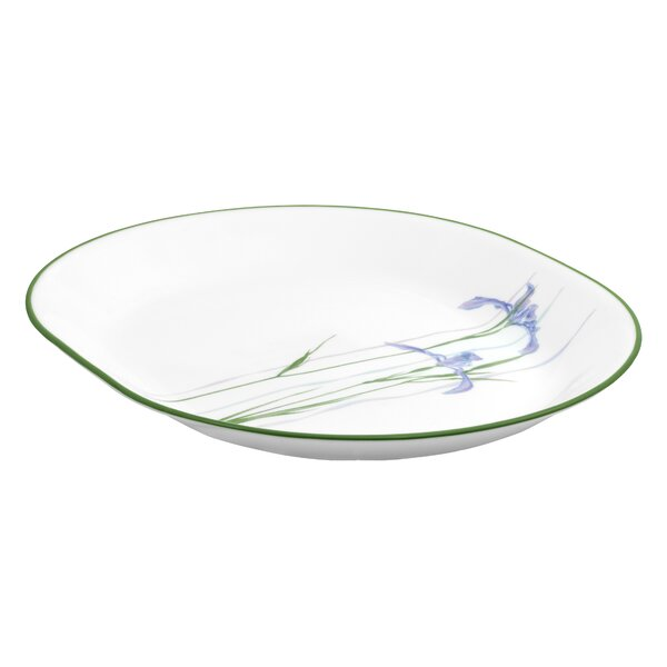 Impressions Shadow Iris Oval Serving Platter by Corelle