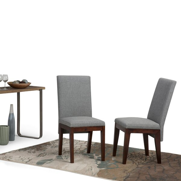 Doerr Upholstered Dining Chair (Set of 2) by Bloomsbury Market