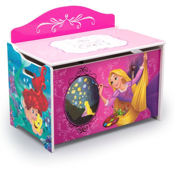 Disney Princess Deluxe Toy Box By Delta Children.