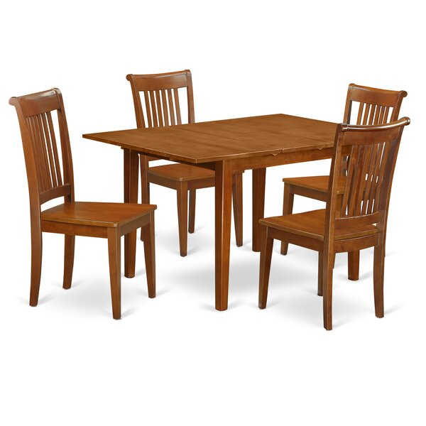 Amazing Lorelai 5 Piece Dining Set By Alcott Hill Great Reviews