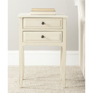 Philipston 2 Drawer Nightstand by Ando..