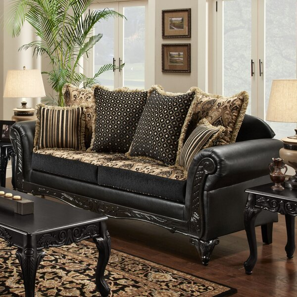Modern Gwendolyn Sofa by Chelsea Home by Chelsea Home