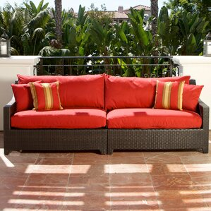 Northridge Patio 2 Piece Loveseat