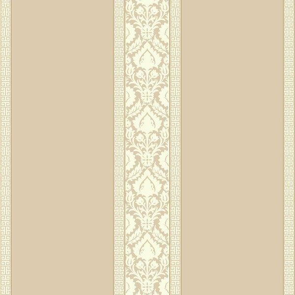 Waverly 27 X 27 Santa Maria Stripe Roll Wallpaper By York