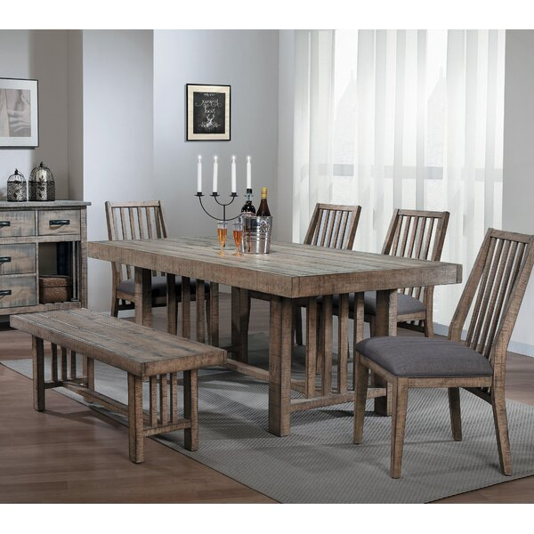 Huang 6 Piece Dining Set by Union Rustic