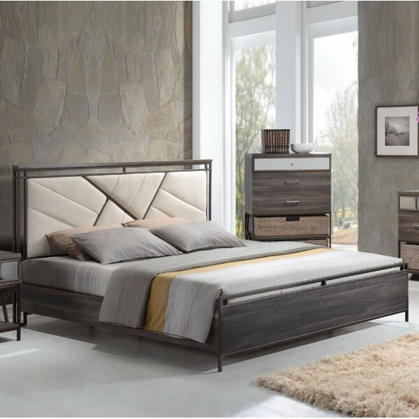 Alexandria Queen Upholstered Standard Bed by Brayden Studio