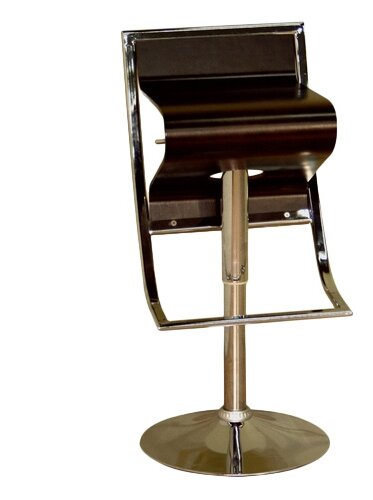 Utley Adjustable Height Swivel Bar Stool by Orren Ellis