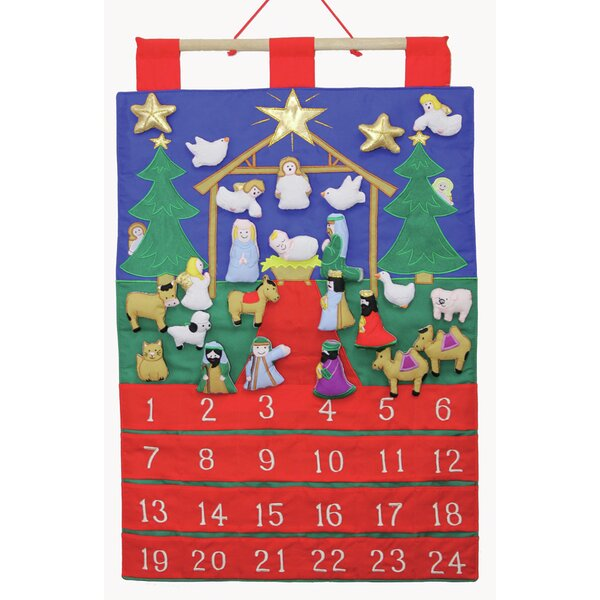 Dings of Joy Fabric Advent Calendar by The Holiday Aisle