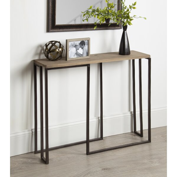 Price Small Slim Console Table by Union Rustic