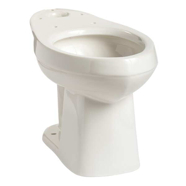 Quantum SmartHeight Elongated Toilet Bowl by Mansfield Plumbing Products