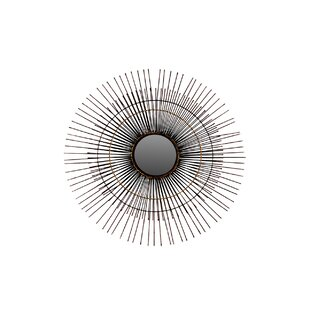Urban Trends Metal Round Accent Wall Mirror