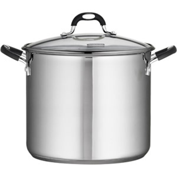 Heuck 12 -qt. Encapsulated Stockpot with Class Lid by Columbian Home Products
