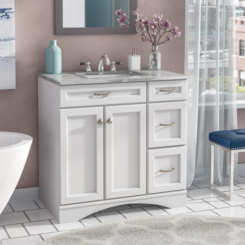 "willa arlo interiors jonina 36"" single bathroom vanity set & reviews 22 Bathroom Vanity"