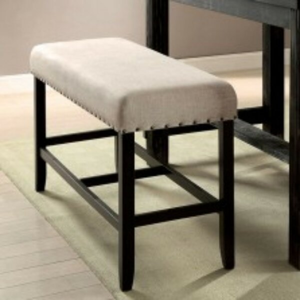 Dulaney Wood Bench by Gracie Oaks