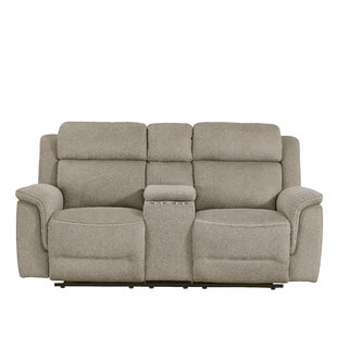 Rotman Power Console Reclining Loveseat