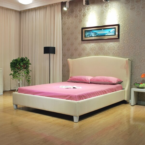 Upholstered Platform Bed by Greatime Greatime