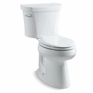 Affordable Highline 1.28 GPF Elongated Two-Piece Toilet ByKohler