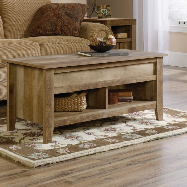 Riddleville Lift Top Coffee Table with Storage by