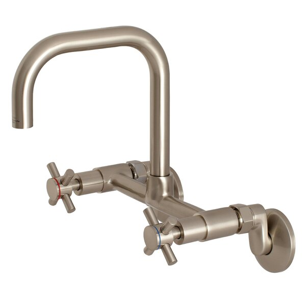 Concord Adjustable Double Handle Kitchen Faucet by Kingston Brass