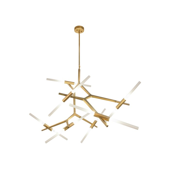 Brayden Studio Cybill 14-Light Sputnik Modern Linear