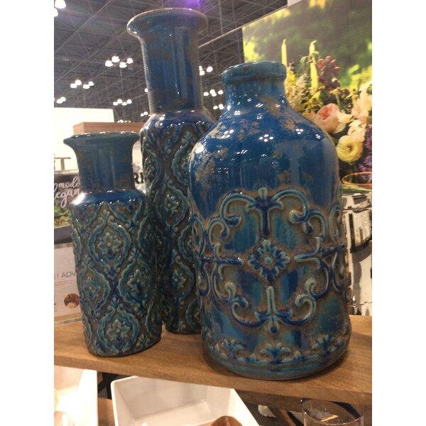 Casablanca Terra Cotta Table Vase by IMPULSE!