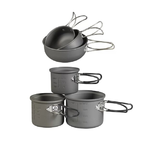 Essentials 6 Piece Aluminium Cookware Set by NDuR