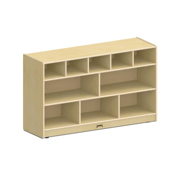 Low Combo 11 Compartment Shelving Unit by Jonti-Craft