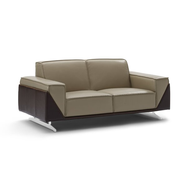 Best Selling Bonneauville Leather Loveseat by Orren Ellis by Orren Ellis