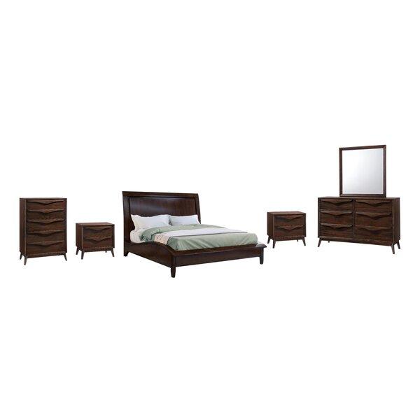 Lantz Wood Platform 6 Piece Bedroom Set by George Oliver