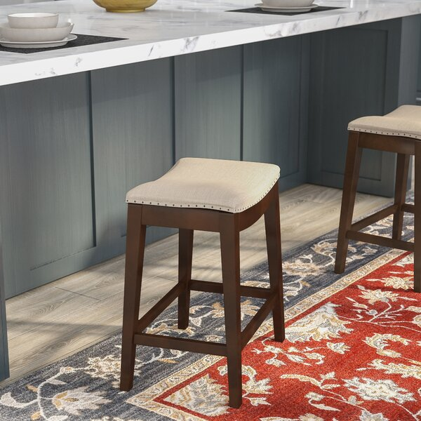 Sokolowski 24 Bar Stool by Three Posts