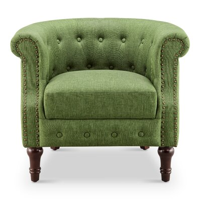 Chesterfield Green Accent Chairs You Ll Love In 2020 Wayfair