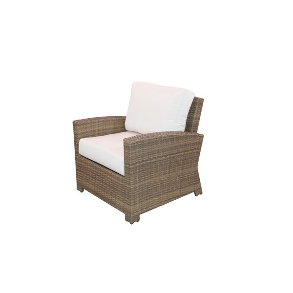 Norfolk Patio Chair with Sunbrella Cushions by Rosecliff Heights