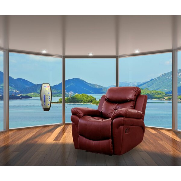 Beatrice Leather Reclining Full Body Massage Chair by PDAE Inc.