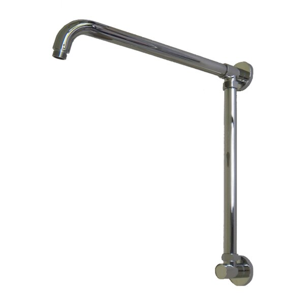 Vertical Riser with 17 Shower Arm by Opella