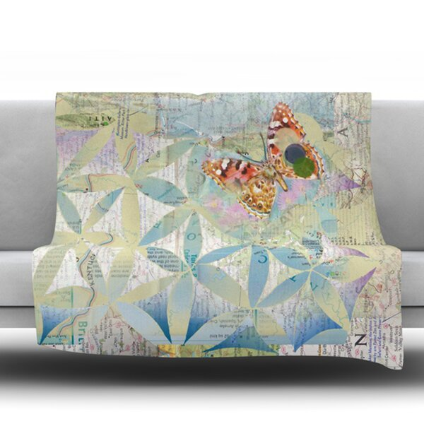 Miraculous Recovery by Catherine Holcombe Fleece Throw Blanket by East Urban Home