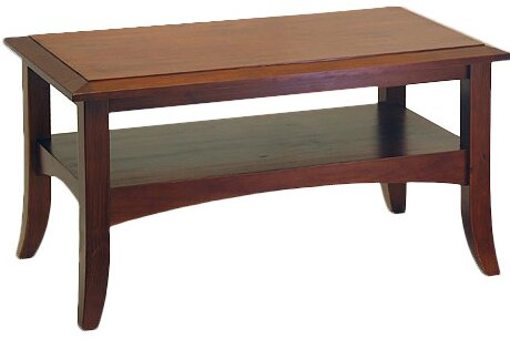 Charlton Home Levin Antique Walnut Coffee Table U0026 Reviews | Wayfair