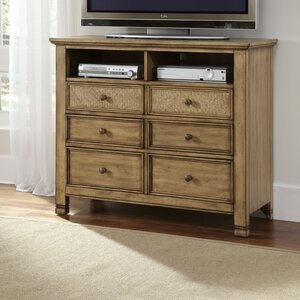 Kingston Isle 6 Drawer Media Chest by Progressive Furniture Inc.