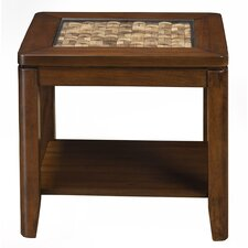 Granada End Table by Alpine Furniture