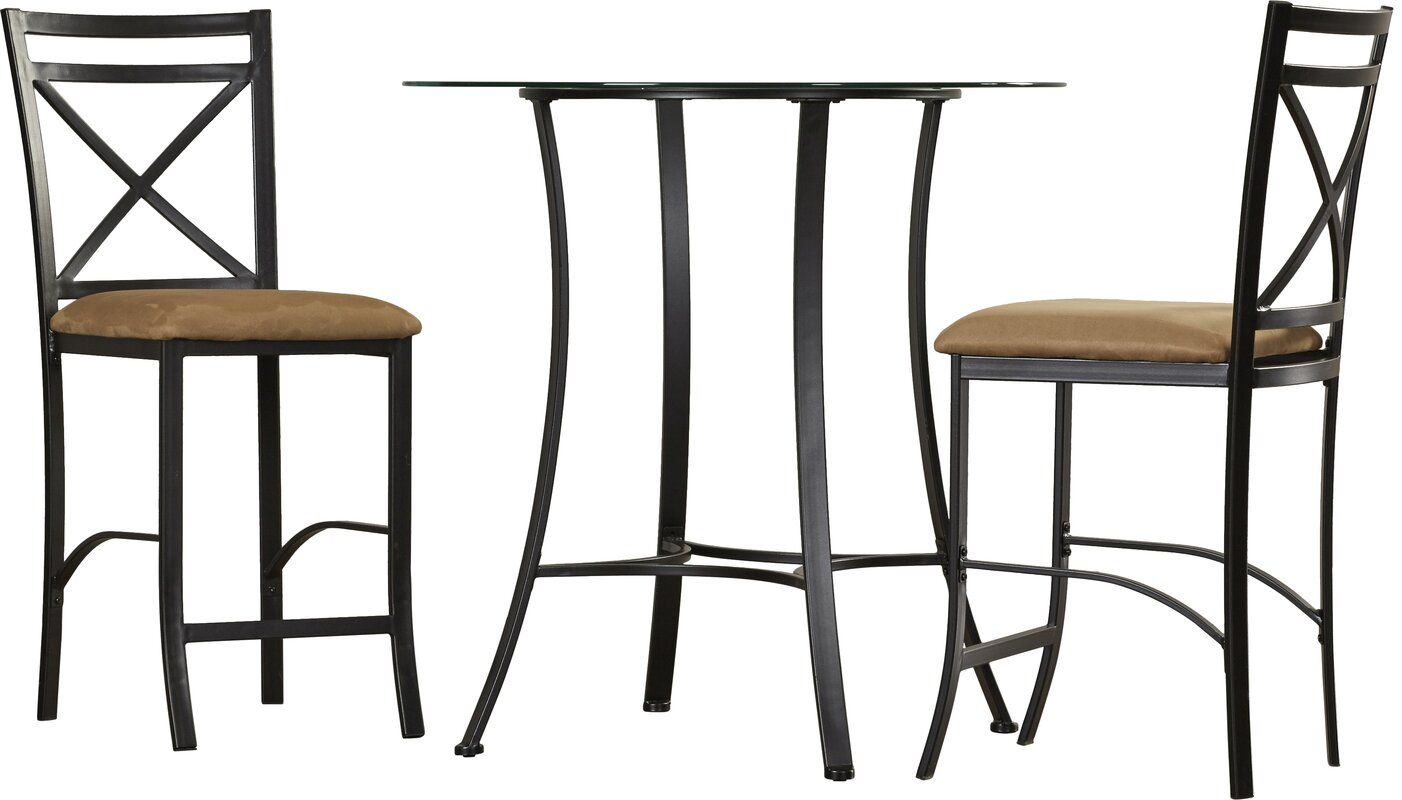 andover mills boxwood  piece counter height dining set  reviews  -   piece kitchen  dining room sets sku ando defaultname