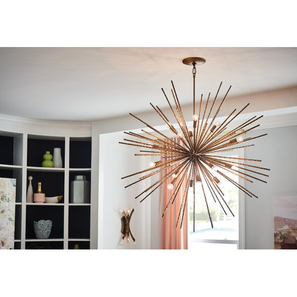 Tryst 16-Light Sputnik Chandelier by Hinkley Lighting