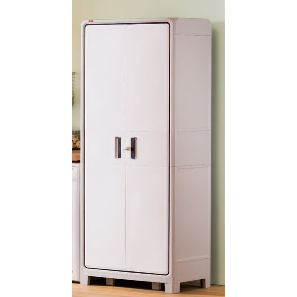 Optima Wonder Plastic 72.1 H x 30.7 W x 18.5 D Storage Cabinet by Keter