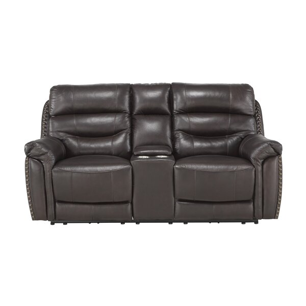 Robillard Leather Reclining 77.5