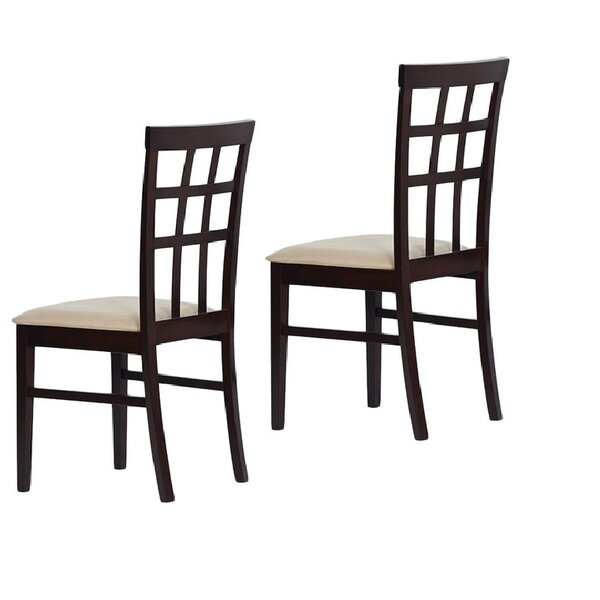 Tiffany Justin Solid Wood Dining Chair (Set of 2) by Warehouse of Tiffany