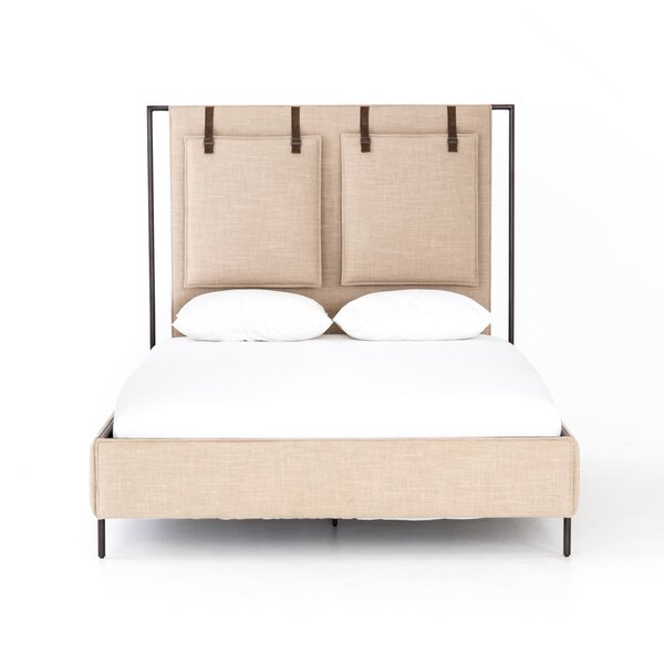 Valeri Upholstered Bed by Brayden Studio