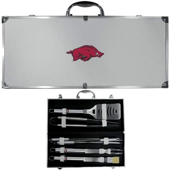 NCAA 8 Piece Grilling Tool Set by Siskiyou Gifts