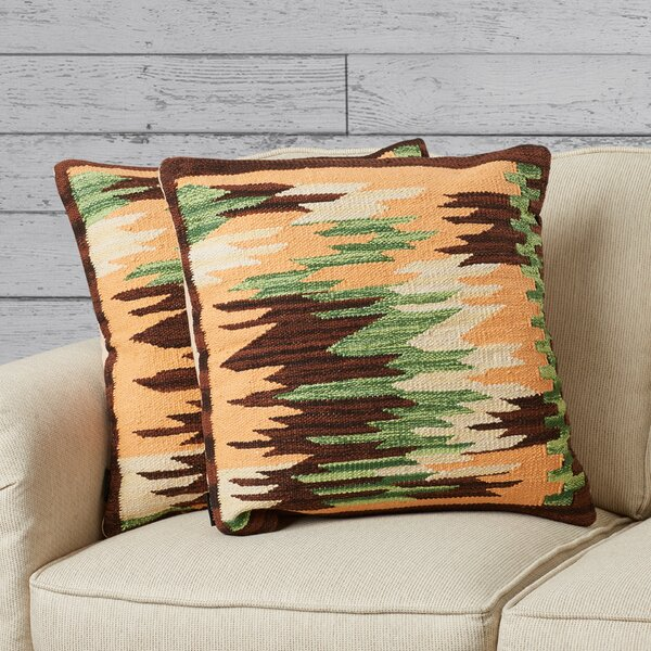 Algonquin Ledge Cotton Throw Pillow (Set of 2) by Loon Peak