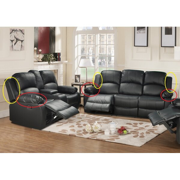Develin 2 Pieces Reclining Living Room Set By Red Barrel Studio