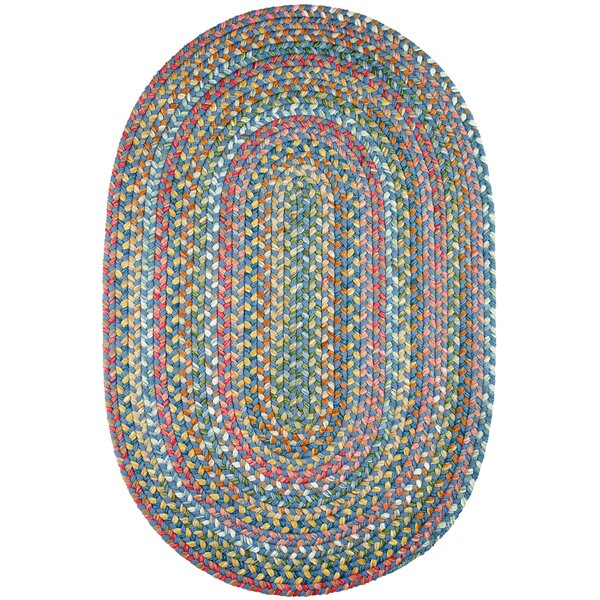 Handmade Sapphire Indoor/Outdoor Area Rug by The Conestoga Trading Co.