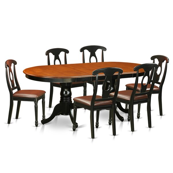 Pilcher 7 Piece Wood Dining Set by August Grove